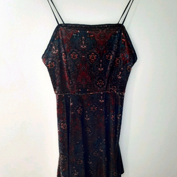 Urban Outfitters velour dress